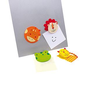 HUGO Klip na poznámky s magnetem ve tvaru zvířátka