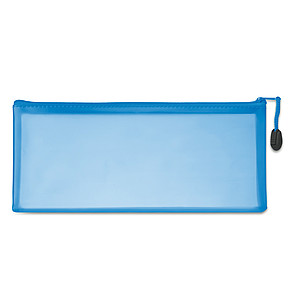 PVC pouzdro na tužky, modrá