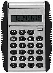 POMELO Kapesní kalkulačka, stříbrná, černá