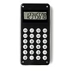 CALCUL Desetimístná kalkulačka s bludištěm na zadní straně, černá