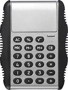 SABINA Kalkulačka stříbrná - reklamní kancelářské potřeby