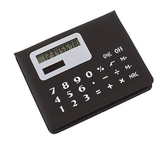 Kalkulačka se zásobníkem barevných lepících lístečků