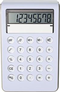 Plastová kalkulačka, osmimístná - reklamní kancelářské potřeby