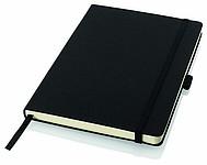 TOGIN A6 Zápisník Balmain, formát A6, 80 linkovaných listů, gumička, záložka, černá