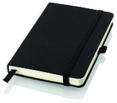 TOGIN A5 Zápisník Balmain, formát A5, 80 linkovaných listů, gumička, záložka, černá