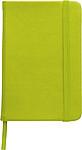 DEPUTY A5 Linkovaný blok A5 se záložkou a gumičkou, 96 listů, sv.zelený - reklamní bloky
