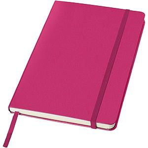 KALON Zápisník A5 se záložkou, 80 stran, růžová - reklamní bloky