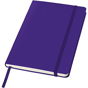 KALON Zápisník A5 se záložkou, 80 stran, fialová - reklamní bloky