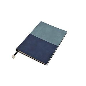 PIERRE CARDIN REPORTER Poznámkový blok světle modrá/tmavě modrá, tečkovaný, A5