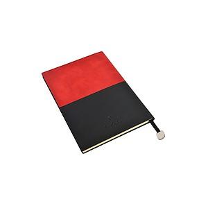 PIERRE CARDIN REPORTER Poznámkový blok červený, tečkovaný, A5