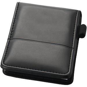 Zápisník v obalu s oddílem na kreditní karty a vizitky