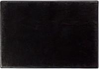 NOTESET Poznámkový blok s gumičkou a perem, černá