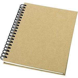 Zápisník z recyklovaného papíru, béžová