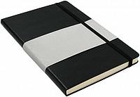 MARINOL A5 Zápisník A5 se záložkou, 96 stran, černý