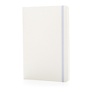 Základní skicák A5 spevnými deskami, bez linek, bílá