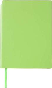 NAVARO Zápisník s místem pro tužku, záložkou a 80 linkovanými stranami, zelený - reklamní bloky