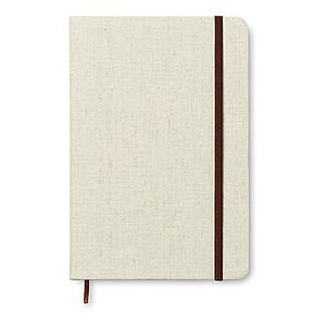 SECRET Linkovaný zápisník A5 s plátěným přebalem