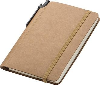 Zápisník se čtverečkovaným papírem, 80 stran, s KP
