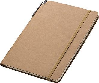 Velký zápisník se čtverečkovaným papírem, 80 stran, s KP