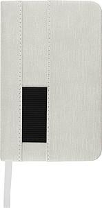 Zápisník A6, 80listů, čtverečkovaný, bílý