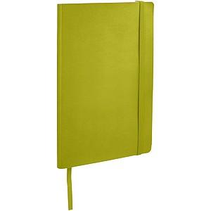 Zápisník v měkkých deskách, limetková