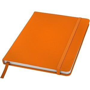 Zápisník A5, oranžová