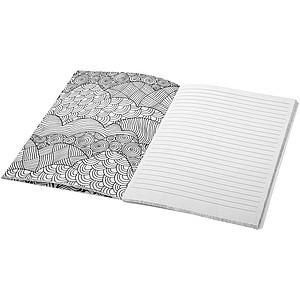 Barevný notebook, bílá