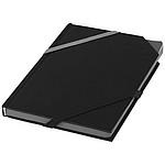 Elastický zápisník, černá