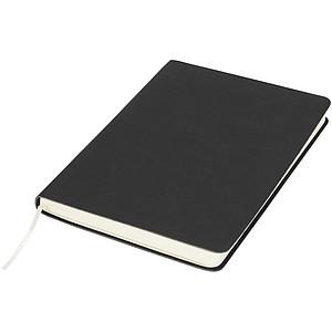 Zápisník Liberty z příjemně měkkého materiálu, černá