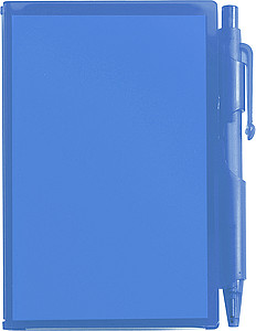 STING Zápisník s kuličkovým perem (černá náplň), modrá