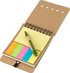 CARTMAN Zápisník se značkovacími lístky a KP s černou náplní