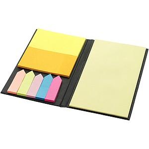 Lepící bloček s barevnými memo štítky