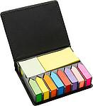 KORA Sada lepivých barevných papírků v krabičce
