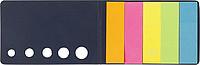MARKYTKA Sada lepících lístků v kartónovém obalu, černá - reklamní zápisník