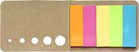 MARKYTKA Sada lepících lístků v hnědém kartonovém obalu - reklamní bloky