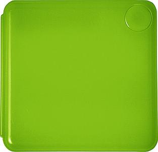 Sada lepících lístků se zrcátkem, světle zelená