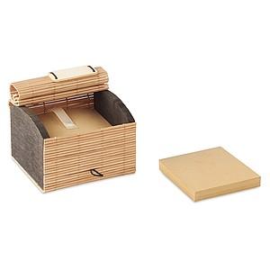 Bambusový obal na 500 listů recyklovaného papíru