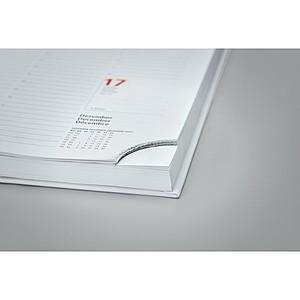 Týdenní diář A5, bílé desky