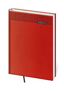 Gommato 2021 diář týdenní A5, červený