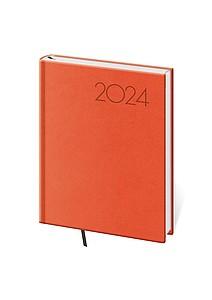 Print 2021 diář denní B6, oranžový