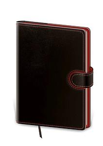 Flip 2021 diář denní A5, černo červený