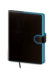Flip 2020 diář denní A5, černo modrý