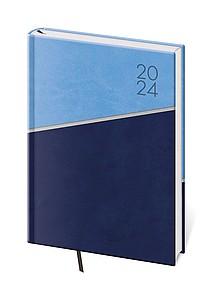 Line 2020 diář denní A5, modrý