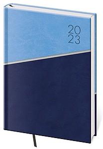 Line 2021 diář týdenní A5, modrý