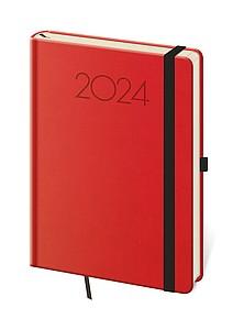 New Praga 2021 diář denní A5, červený