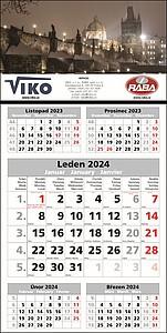 PĚTIMĚSÍČNÍ nástěnný kalendář 2020