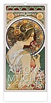 Alfons Mucha 2018, nástěnný kalendář