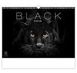Black 2018, nástěnný kalendář