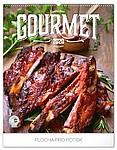 Gourmet 2020, nástěnný kalendář, prodloužená záda