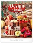 Design in Living 2019, nástěnný kalendář, prodloužená záda